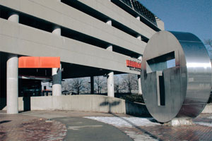 Alewife Parking Garage (photo from MBTA.com)
