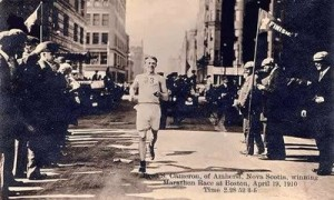 Boston Marathon, 1910